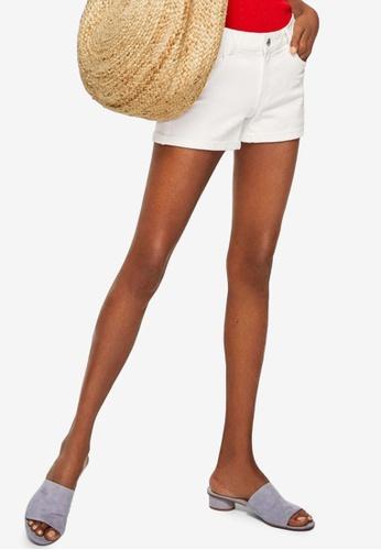 Mango white White Denim Shorts 8BF09AA6AE0399GS_1