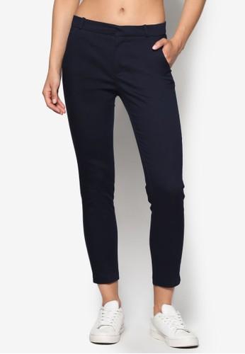直mango官網筒棉質長褲, 服飾, 長褲及內搭褲