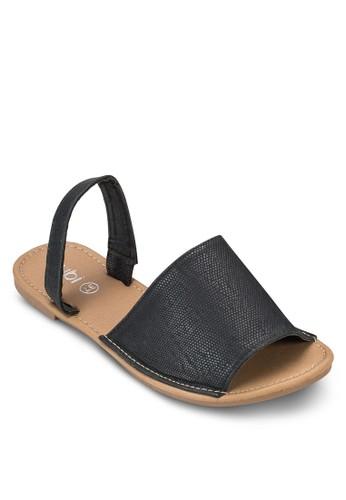 Margaresprit hkita 寬帶繞踝涼鞋, 女鞋, 鞋
