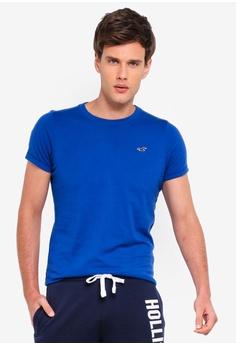d13a06598f Hollister blue Muscle Fit Crew Neck Tee 60DFAAA2B11D33GS_1