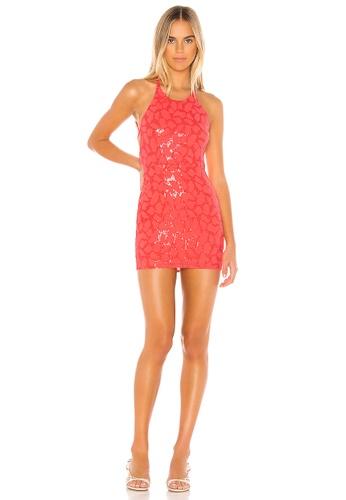 superdown pink Scarlett Mini Dress(Revolve) 4128CAAE4C101DGS_1