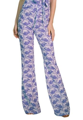 Akosée blue Plato Trousers DBE19AAE4DB2D2GS_1
