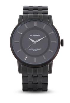 988311849 Armitron black Men Stainless Steel Strap Analog Watch 908DFAC66915B8GS_1