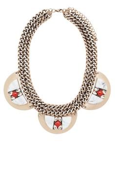 Crystal Applique Necklace