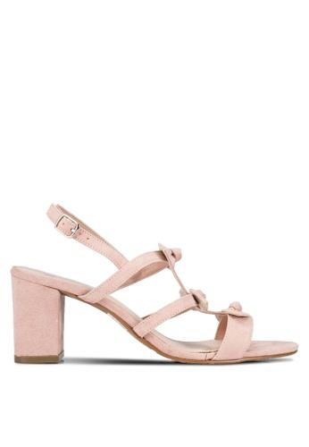 DMK pink Triple Bow Heels DM860SH0RG1HMY_1