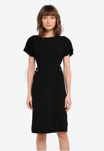 Wallis black Black Shift Dress WA800AA0SSSAMY_1