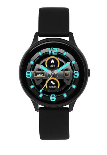 Milliot & Co. black Cyprus Smart Watch 851BFACBB241D9GS_1