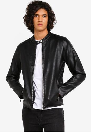 4ac22209f Mind PU Biker Jacket