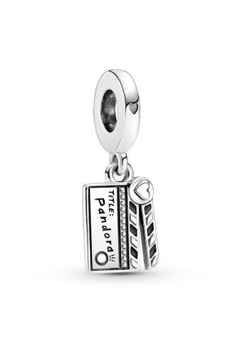 Pandora silver Movie Clapperboard Dangle Charm DFA86AC375BBCEGS_1
