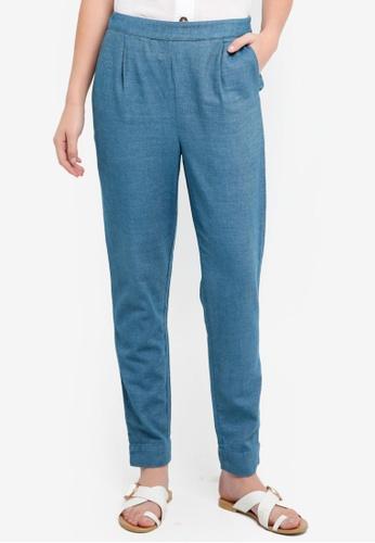 Selected Femme blue Taylor Pants C05ACAA732CCC9GS_1