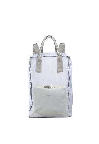 RABEANCO grey RABEANCO SATO CANVAS Backpack - Light Grey 6F5DFACB53A905GS_1