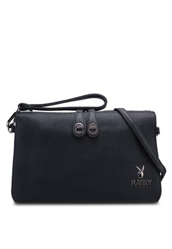 Playboy black Clutch/Sling Bag D2A5BAC51BC167GS_1