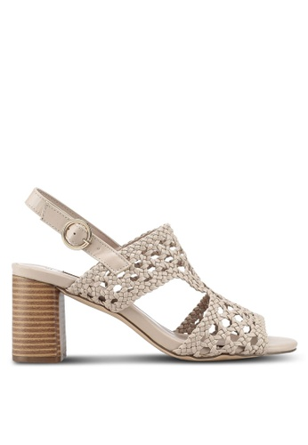 Dorothy Perkins pink Nude Sammy Woven Sandals BF4A5SH513966EGS_1