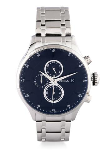 ZECA silver Zeca Watches Couple Man Fashion - 3006M Silver Black 8DB13ACDA916DAGS_1