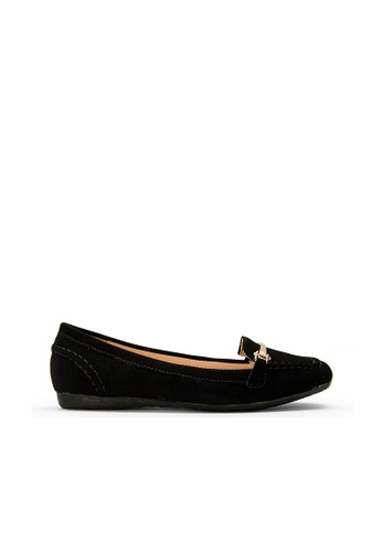 SEMBONIA black SEMBONIA Synthetic Leather Loafer (Black) E1DDFSH8C75F23GS_1