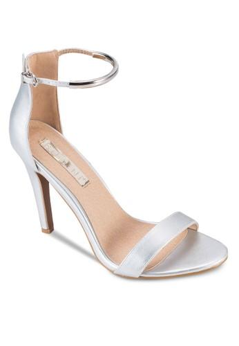 Oriana 一字帶扣環高跟鞋, 女鞋, 京站 esprit鞋