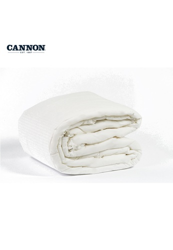 CANNON white CANNON Comfort Indulgence Microfibre Quilt. A2C7BHLB097116GS_1