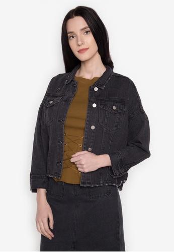 Chloe Edit black Denim Jacket CH672AA0JT3IPH_1