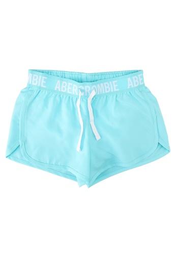 Abercrombie & Fitch blue Bib Active Shorts CAA3DKA57F1939GS_1