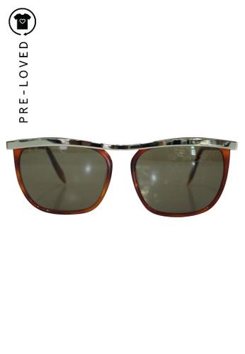 victoria beckham brown Pre-Loved victoria beckham Brown Sunglasses. 92804GL409AC69GS_1