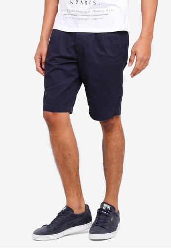 OVS navy Chino Shorts D6639AA3A6AB87GS_1