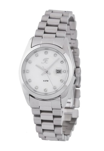 Teiwe Collection silver Moment Watch Teiwe Collection TC-CL2002 - Jam Tangan Wanita - Stainlles Steel - Silver 8A7B6ACF1DA266GS_1