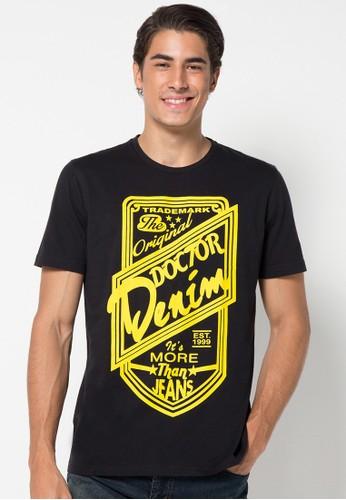 DocDenim black Men T-Shirt Originale 0408EAA845AE83GS_1