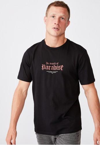 Cotton On black Tbar Moto T-Shirt 9B9A5AA171CF07GS_1