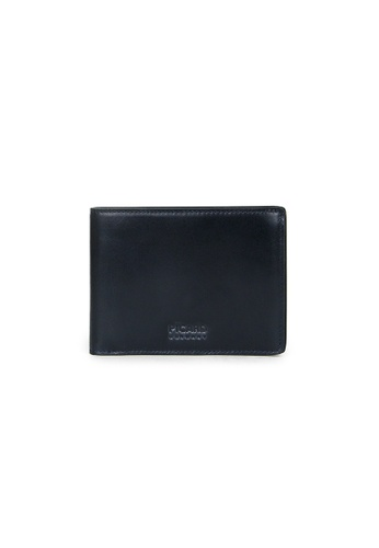 Picard navy Picard Teuer Slim Bifold Wallet with Card Window D21B9AC1356E35GS_1