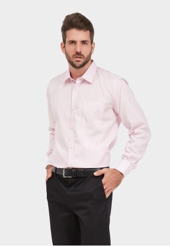 ARAMIS pink ARAMIS Long Sleeve Solid Shirt 50213 BDCE1AADE7DFACGS_1