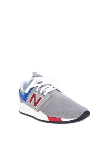 super popular 32b3e 38879 Shop New Balance 247V2 Simple Mesh Sneakers Online on ZALORA Philippines