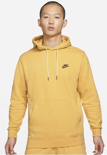 Nike yellow Men's Sportswear Sb Revival Pullover Hoodie E9076AADC21DFFGS_1