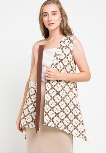 Rianty Batik multi and beige Vest Anggie B8E12AA02947E9GS_1