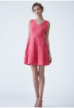 e28ec20c3cf94 75% OFF LE BRODE V collar sleeveless dress HK  1