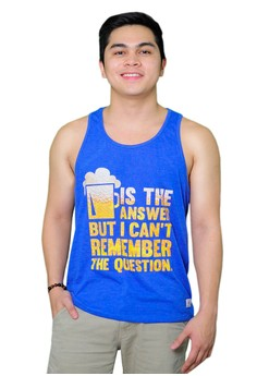 Beer Is The Answer Tank