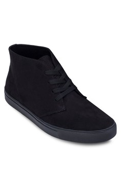 Faux Suede High Top Sneakers