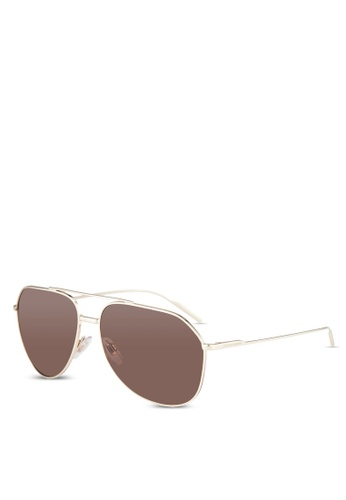 Dolce & Gabbana gold Dolce & Gabbana DG2166 Sunglasses DO384GL0RNI1MY_1
