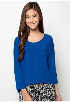 Basic Color Long Sleeved Top