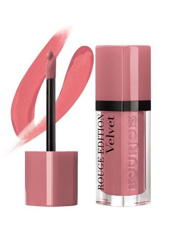 BOURJOIS Bourjois Rouge Edition Velvet Lipstick #09 Happy Nude Year (EXP: 2022 onwards) BO885BE81MXISG_1