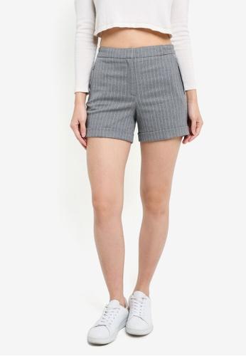 Esprit grey Woven Regular Shorts ES374AA0RXXEMY_1
