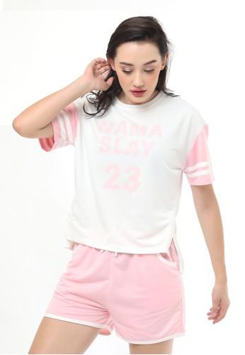 Pierre Cardin white Energized By Pierre Cardin Namaslay Tee Shirt 801-000034 27713AAC68DA17GS_1