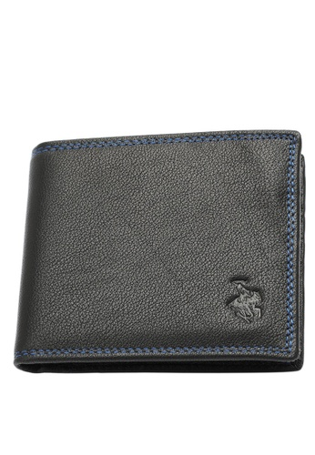 Swiss Polo black Swiss Polo Bi-Fold Rfid Blocking Wallet 07F16ACC94D725GS_1