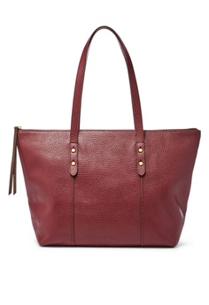 Fossil Red Jenna Wine Tote Bag Shb1727607 716ac30371gs 1