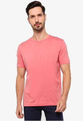 BOSS pink Tiburt 55 Tee 860DCAA802C473GS_1