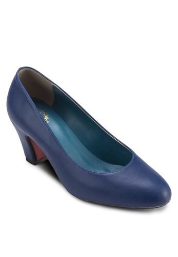 基本款粗跟esprit童裝門市鞋, 女鞋, 鞋