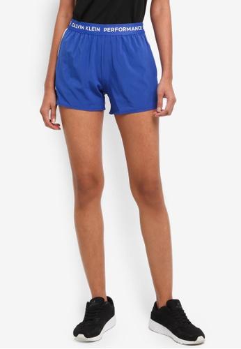 Calvin Klein multi Logo Wb Shorts - Calvin Klein Performance 87ADAAA2AB9DA2GS_1