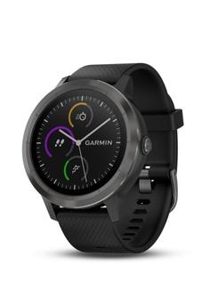 20248cad4cbdc9 Garmin black Vívoactive® 3 with Slate Hardware E133BAC0B30722GS 1