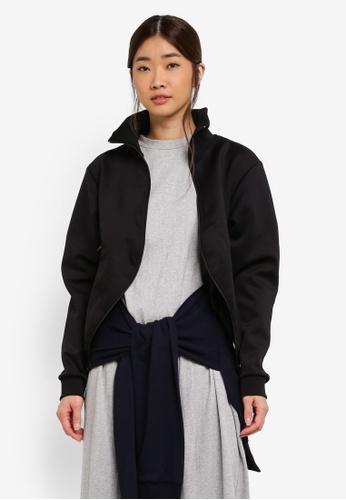 Stylenanda black Zippered Jacket 0EE93AADF3D3C5GS_1