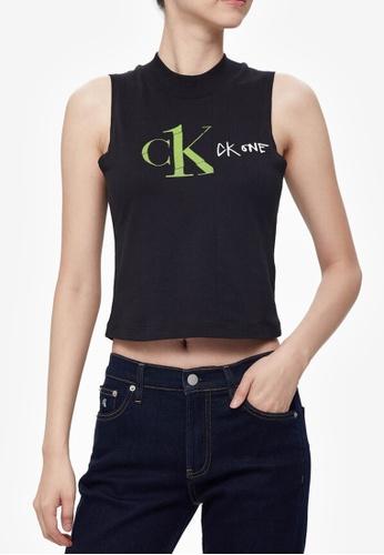 Calvin Klein multi CK One Tank Top 0B113AA4F0E088GS_1