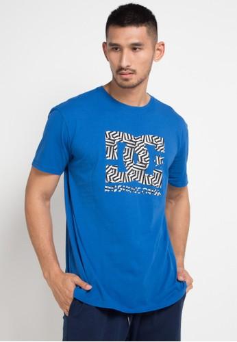 DC blue and multi Dazzle Star Ss Id Shirts 03EB4AA3862DAFGS 1 e8bc597962